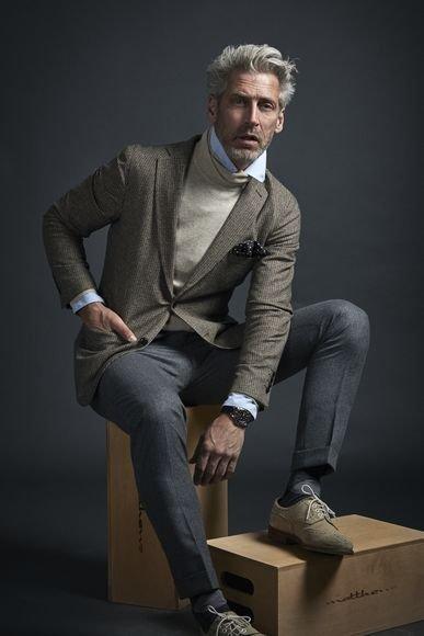 9ad1a2781f Külön ruhadarabokra bontva ezek szeremcsés választások lehetnek a téglalap alkatú  férfiak számára: